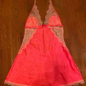 Victoria's Secret halter lingerie slip dress